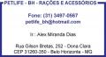 petlifebh ra��es e acess�rios -entrega gr�tis-garantia de menor pre�o de BH