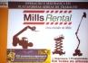 Mills Rental - Plataformas Aéreas e Manipuladores Telescópicos (skutrack, Telehanther)