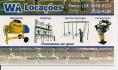 wa locações de equipamentos para construção ltda