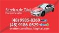 SERVIÇO DE TAXI EM FLORIANOPOLIS COROLLA
