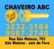 CHAVEIRO ABC - SÃO MATEUS