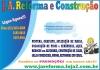 J A REFORMA E CONSTRUÇÃO
