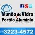 Portão Alumínio MV - Portões de Alumínio e Vidros em São Luís-MA