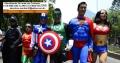 .:. Locação Personagens Vivos Super Herois
