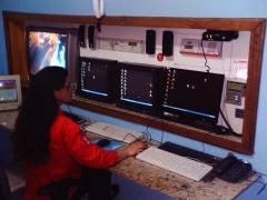 Central de monitoramento informatizada nas 24 hs