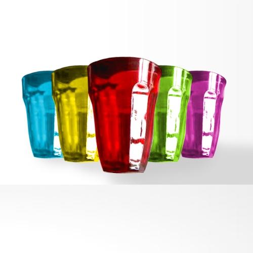 Conjunto de copos com 6 peças