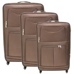 Linha de malas apolo - mala expansível  em e.v.a. com segredo, rodas 360°, interior revestido, compartimento interno com zipper, dois bolsos externos com zipper, alça lateral e superior.