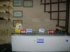 Aceitamos os principais cartões de credito e debito