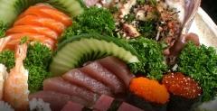 Combinado-variedade de sushis