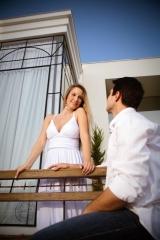 Ensaio fotográfico com noivos.
