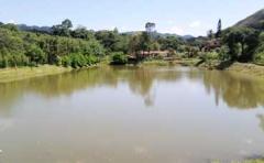 Camping paiol águas da prata - zona para pescar