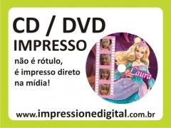 Impressão em cd / dvd