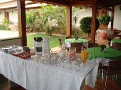 Café da manhã da pousada surucuá - bonito/ms