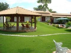 Redário e Área Verde da Pousada Surucuá - Bonito/MS