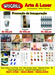 Varios produtos da empresa
