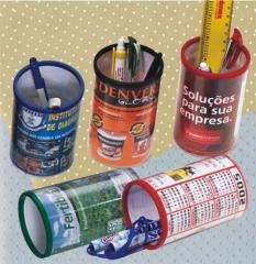 Porta Lápis Com Foto ou Logo da Empresa na Promoção