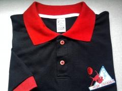 Camisa polo com detalhes