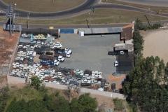 Foto aerea do nosso patio