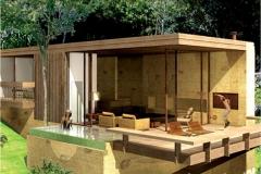Villa do cedro - bangalô