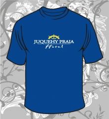 Camiseta gola careca   cor : azul marinho   meia malha 88% algodão e 12% poliéstre  -  fio 30.1 penteado