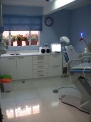 Sala clínica para realizar os procedimentos
