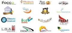 Alguns logotipos desenvolvidos pela magna comunicação