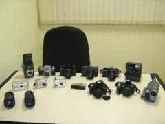 Equipamentos de última geração, para o trabalho em fotos e filmagens.