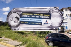 Outdoor com aplique.
