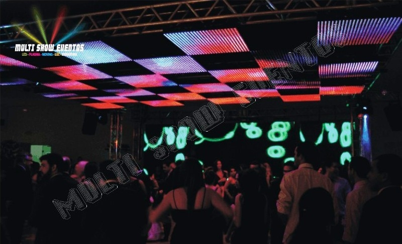 LED PH10 E TETO MOSAICO PH40