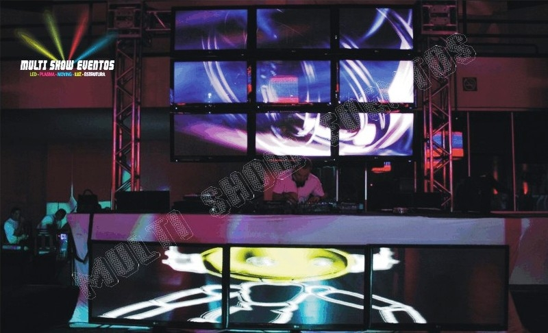 VIDEO WALL 3X3 TV DE 42 E 1X3 TV DE 50