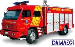 Caminhão de bombeiro de auto resgate - marca damaeq