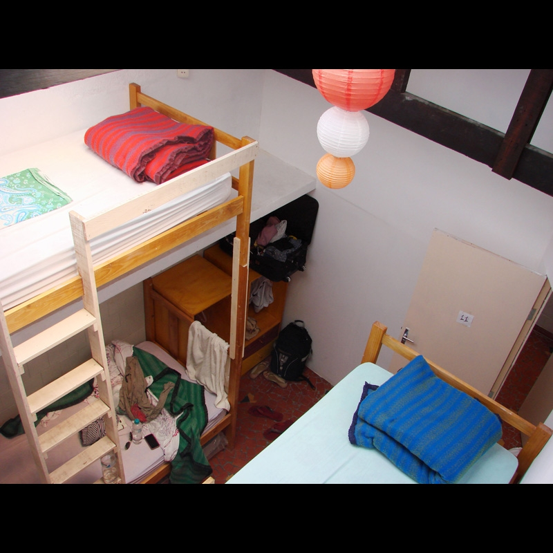 4bedded dorm 3Dogs Hostels São Paulo Brazil