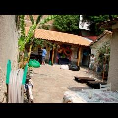 Jardim 3dogs hostels são paulo brazil