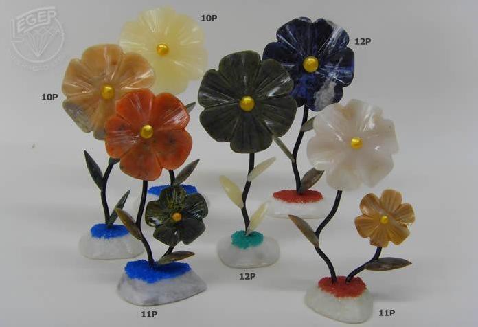 Flores de pedras