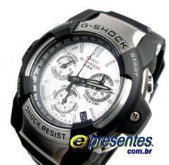 Gs-1001-7adr- relogio de pulso casio g-shock giez cronógrafo