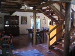 Interior da pousada