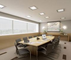 Sala de reuniões doprime offices praia de belas