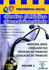 Médico perito volume 3 conhecimentos específicos