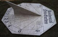 Projeto relogio solar - foto 11