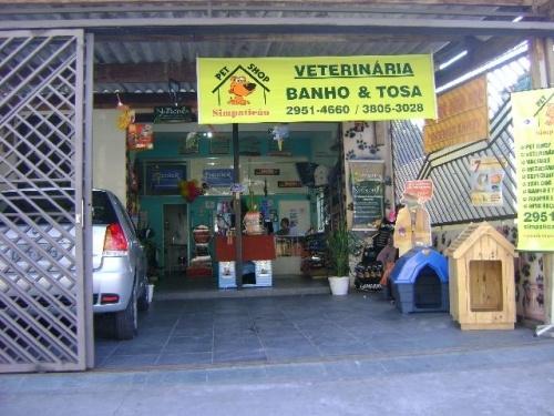 Fachada Simpaticão Pet Shop