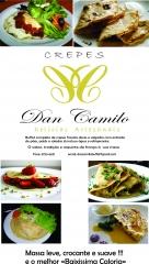 Festival de crepes frances completo com entrada guarnições de saladas e bebidas já inclusas a partir de r$18,90 !!!