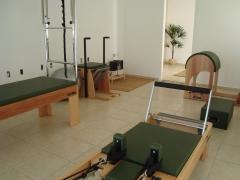 Estúdio completo de pilates