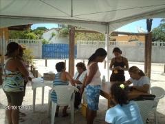 Ação social do dia da biblia
