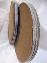 Roda de lona  - para colar pó