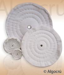 Roda de flanela costurada ou solta - 6cm a 60cm