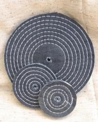 Roda de jeans costurado - 6cm a 60cm