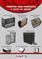 Produtos para simulação e testes de painéis - gigas de teste, biestável monofásico, biestável trifásico - Montagem eletromecânica, manutenção, instalação elétrica e eletrônica, configuração, testes ponto a ponto, testes funcionais, testes dielétricos, testes de aderência de tinta, testes de espessura de camada de tinta, locação de mão de obra, locação de equipamentos, montagem de painéis elétricos, automação de máquinas, equipamentos, comércios e indústrias, instalações elétricas