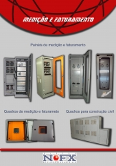 Painéis de medição de faturamento (PMF), Quadros de medição de faturamento (QMF), Sistema de medição de faturamento (SMF), Quadros padrão ELETROPAULO - Montagem eletromecânica, manutenção, instalação elétrica e eletrônica, configuração, testes ponto a ponto, testes funcionais, testes dielétricos, testes de aderência de tinta, testes de espessura de camada de tinta, locação de mão de obra, locação de equipamentos, montagem de painéis elétricos, automação de máquinas, equipamentos, comércios e indústrias, instalações elétricas