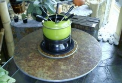 Pedrock - tgf centro giratório para fondue beatriz