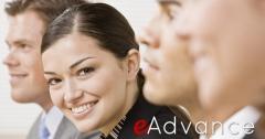 E-advance banner